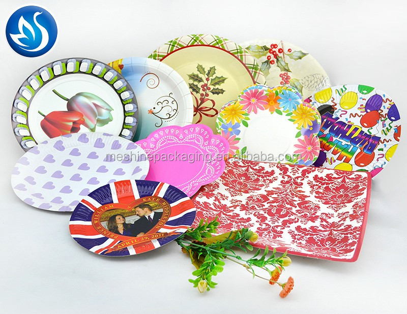 Eco Friendly Disposable Pulp Paper Plate