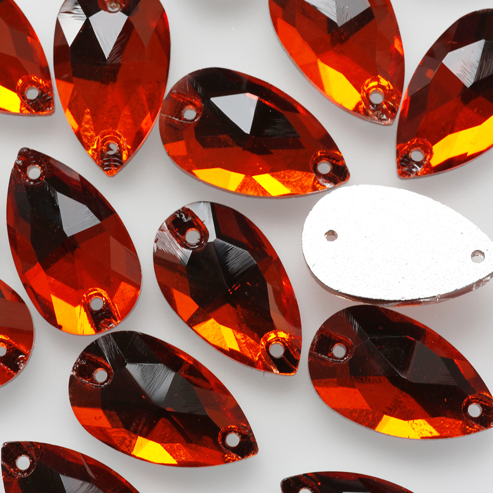 Crystal beads wholesale high quality Flat back ab crystal sew on rhinestones for dresses