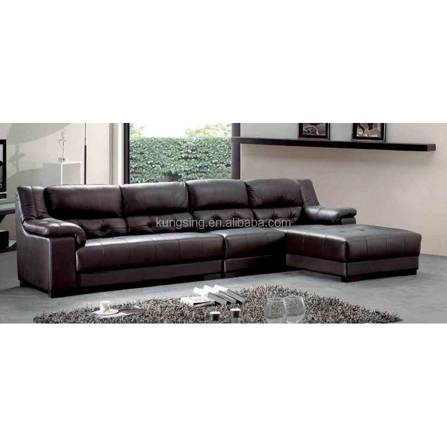 Genuine Leather L Shaped 5 Seater Sofa Set - Buy 5 Seater Sofa Set,L Shaped  Sofa Set,Genuine Leather Sofa Set Product on Alibaba.com
