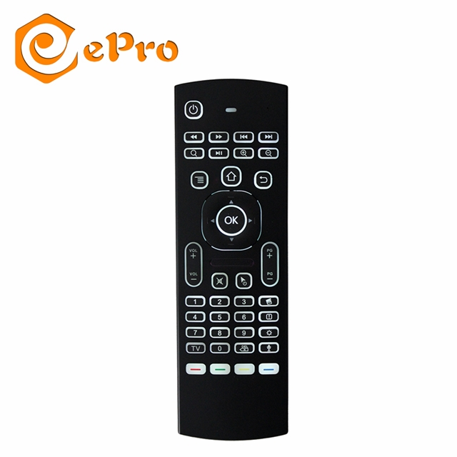 Bestseller Mx3 2.4g Air Mouse Fly Mouse MINI Toetsenbord Voice Optioneel voor android tv box Computer