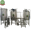 Beer brewhouse with CE beer making line
