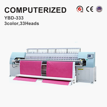 YBD333 Multi 15 köpfe computerized quilten stickerei maschine