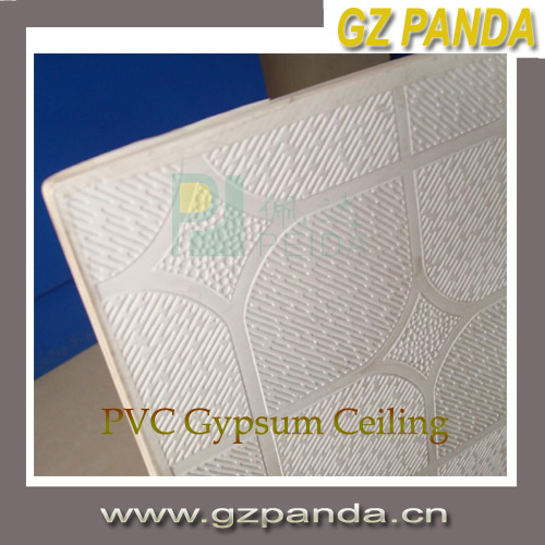 China Cheap Wall Panel PVC Gypsum Ceiling Tiles