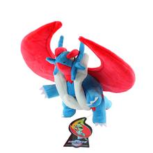 40cm Pokemon Mega Plush Toys Salamence With Tags New Fashion Cartoon Plush Toys Movies TV High