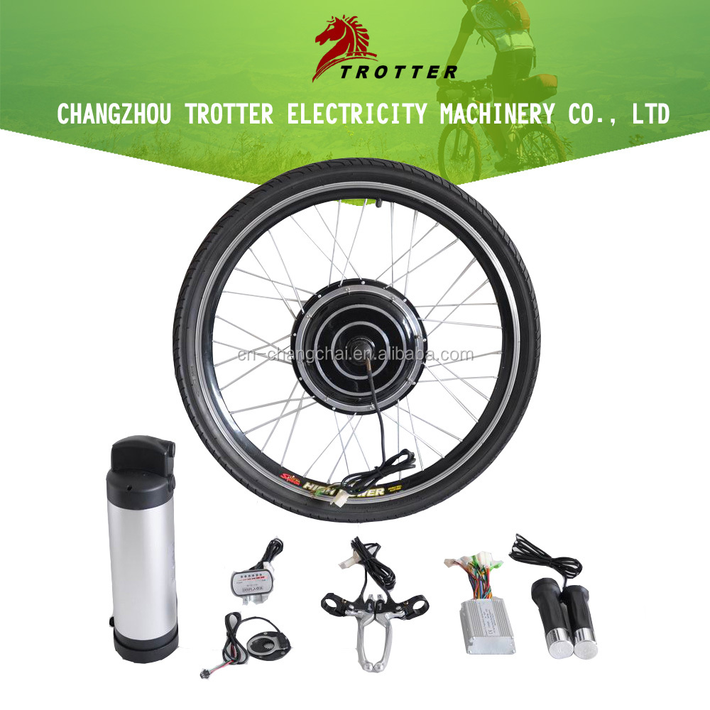 E-Bike 24V-48V 250W-1000W Electric Bicycle Conversion Kit With Battery Brushless Motor Ebike Spare Parts