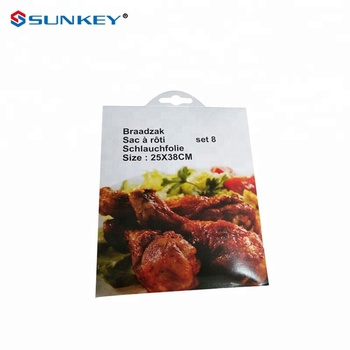 Plastic Roasting Oven Safe Steam Cooking Bags