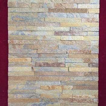 External Walls Rust Plate Lightweight Culture Stone Cladding