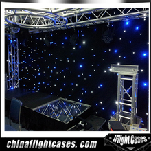 LED Electric Curtain Star Curtain Pipe and Drape Sets Backdrope