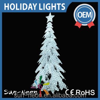 Artificial Wedding Tree Motif Light White Lighted Christmas