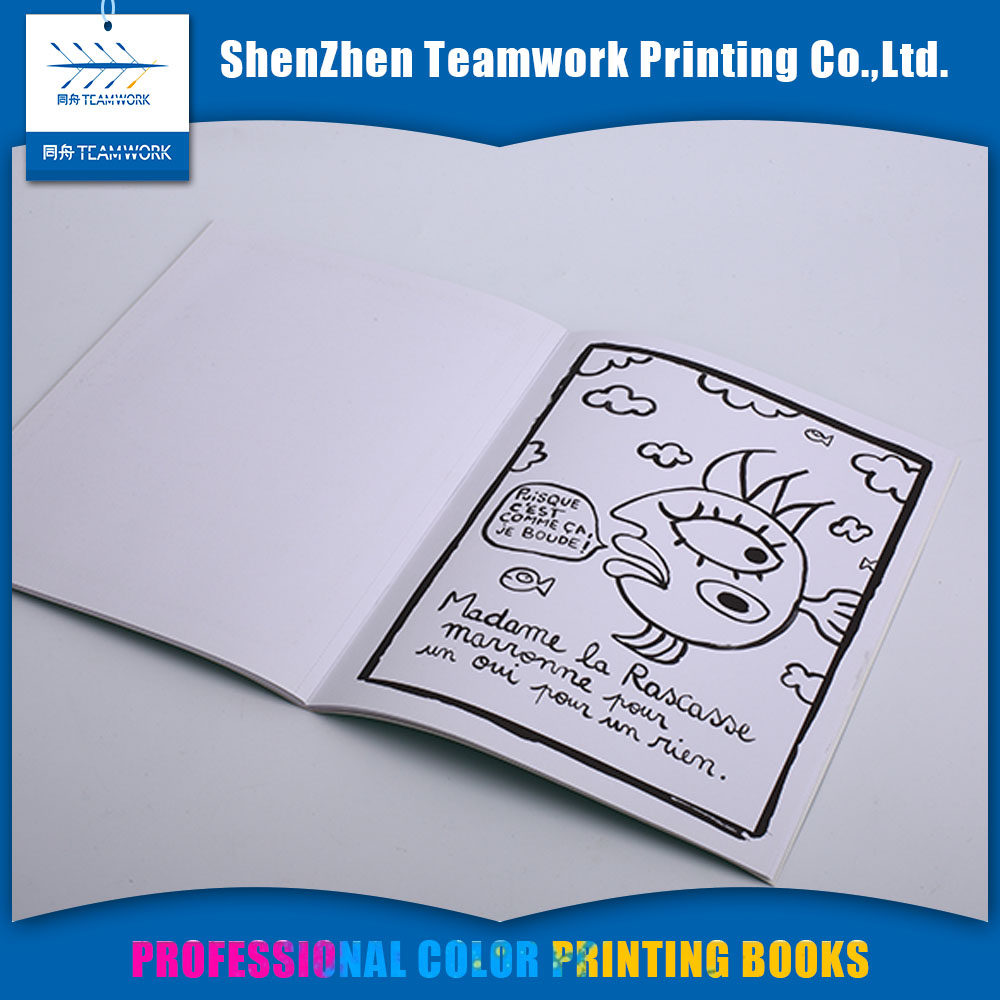 The custom colorful brochure printing services