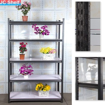 Warehouse sheet metal storage shelf display rack