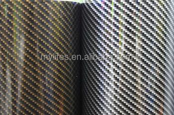 Zwart Wit Vinyl : D d d carbon vinyl wrap lucht vrij zwart wit goud zilver blauw