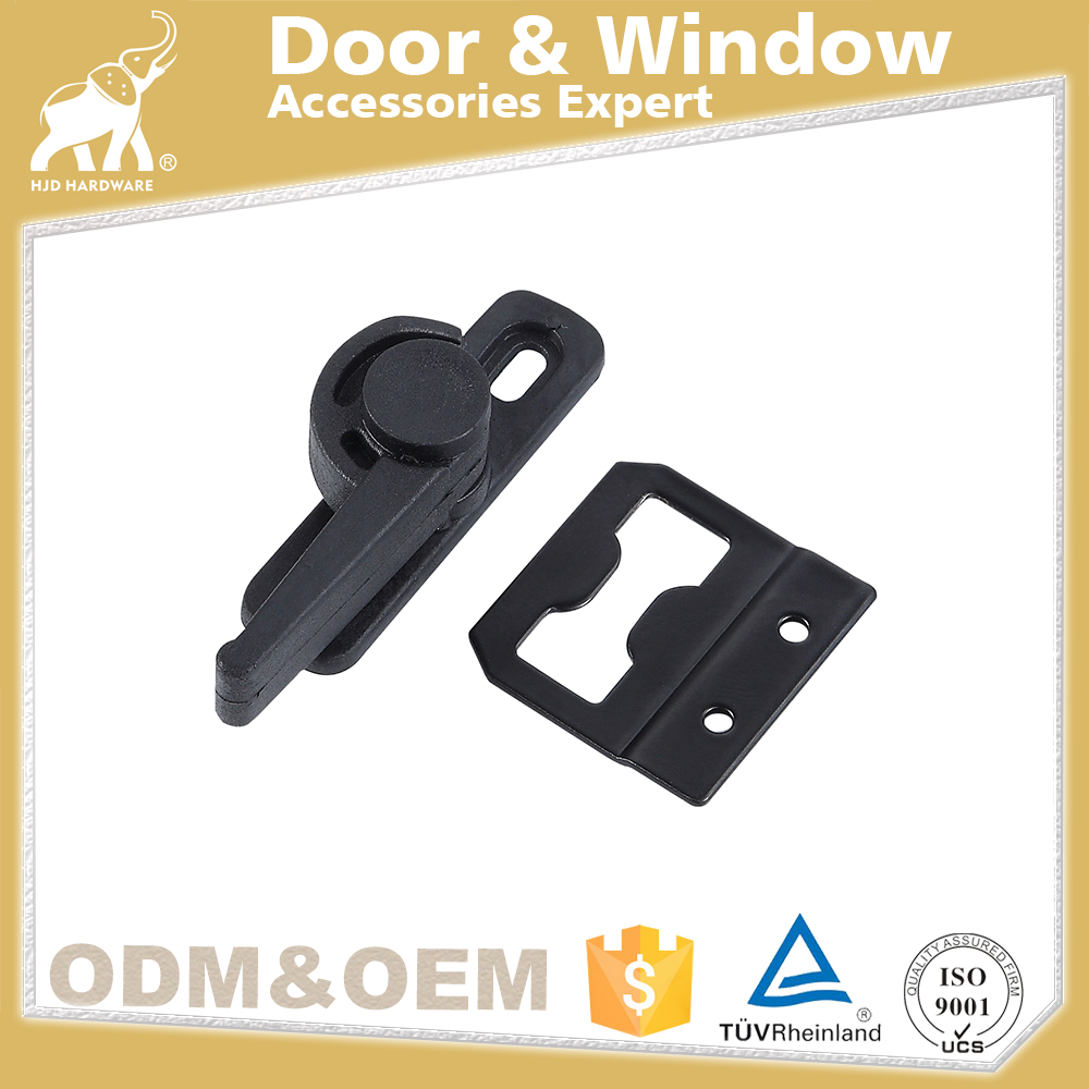 2017 Newest Plastic Sliding Door Lock hjd A057