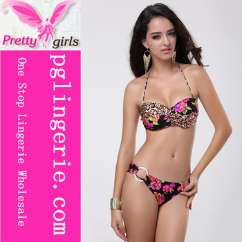 Print Flower Www Sex Com Ladies Sexy Bikini