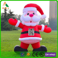 Newest large santa decorations/ santa claus life size/ santa claus inflatable