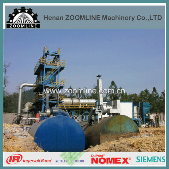ZAP-S120 used hot mix asphalt plant