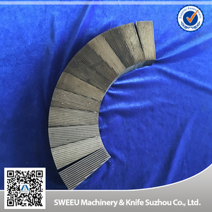 Plastic pulverizer /miller blade /grinding disc for PVC.PE