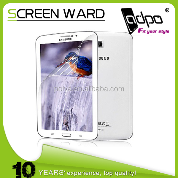 New product popular high clear korea screen protector for samsung tab 4 8.0