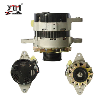 YTM D04FR ENGINE ALTERNATOR GENERATOR 8-98004-176-0 24V 50A 8PK application SK140-8 CS130-8