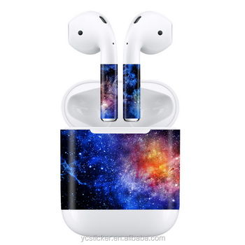 Best Sale Protective Skin For Apple Airpods Wireless Bluetooth Headphone 3m  Removable Vinyl Wrap Sticker Decal Anti-lost Film - Buy Protective Skin