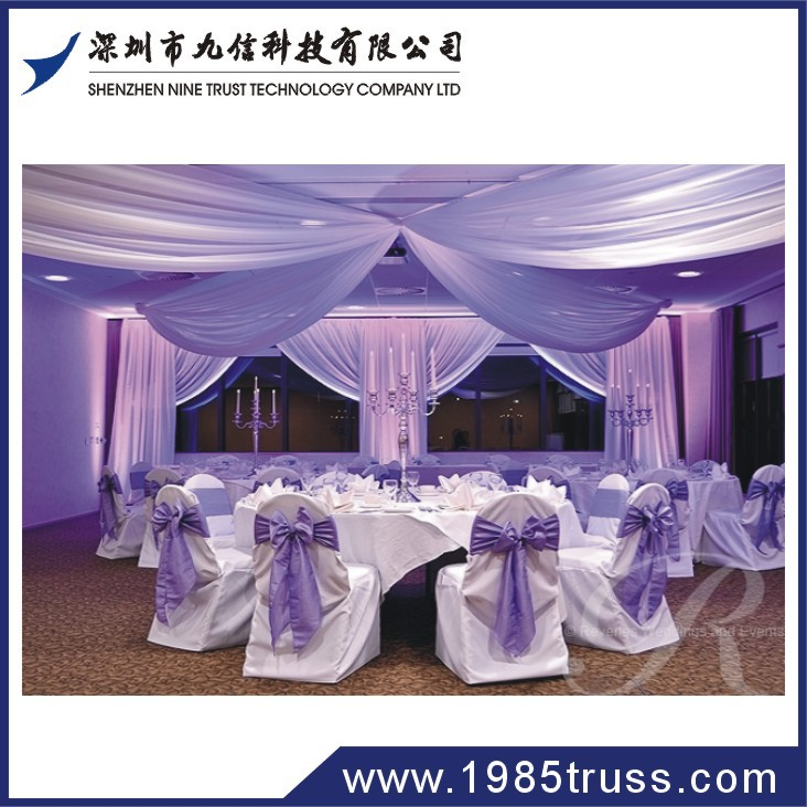 pipe and drape sale for wedding hall decorations from shenzhen