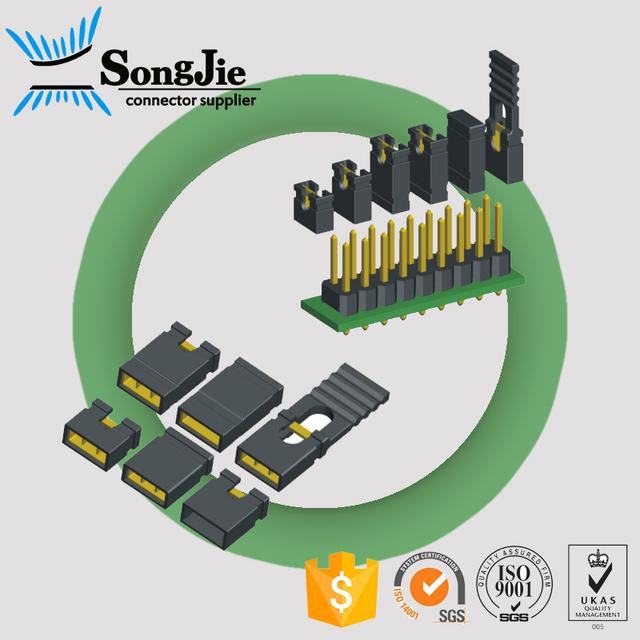 1000Pcs For 2.54 Mm Header Shunts Mini Micro Jumper Ic New rq