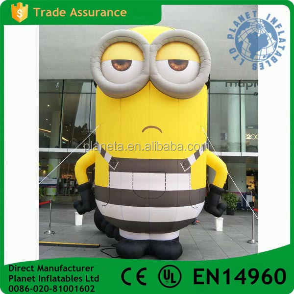 Advertising Large Minion Inflatable For Sale
