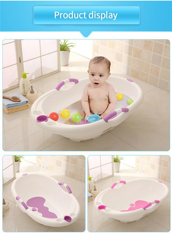 Purple Babyyuga Baby Folding Bath