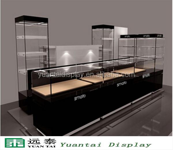 personnalis bijoux en verre comptoir de magasin conception bijoux vitrine avec led spotlight. Black Bedroom Furniture Sets. Home Design Ideas