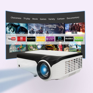 CRE X2001 FULL HD 1080P Portable LED Mini Projector 1920x1080 LCD 200inch Video LCD For Home Theater Game Movie Cinema