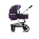 Zhilemei Luxury Aluminum Alloy Infant Foldable Lightweight Travel Baby Pram 3 in 1 Baby Stroller
