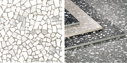 building material China supply Terrazzo ceramic tiles bathroom floor terrazzo look porcelain tiles price Pakistan