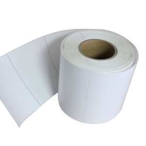 Self Adhesive 102*152mm in Direct Thermal White Shipping Printed Label