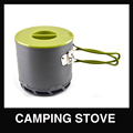 Heat Collector Camping Pot Outdoor Cookware Cooking Pot