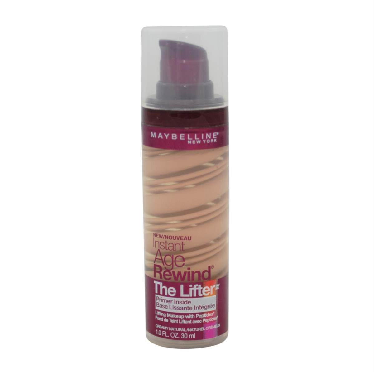 Maybelline New York Instant Age Rewind The Lifter Makeup, Creamy Natural, 1 Fluid Ounce (Pack of 2)