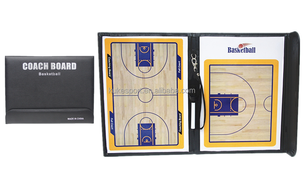 Cima basketball coach board Foldable tactics board with magnetic open & close sport item Factory OEM