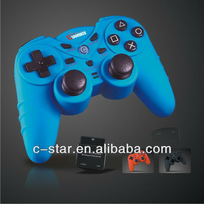 For playstation2 game console wireless joystick game controller gamepad for video games