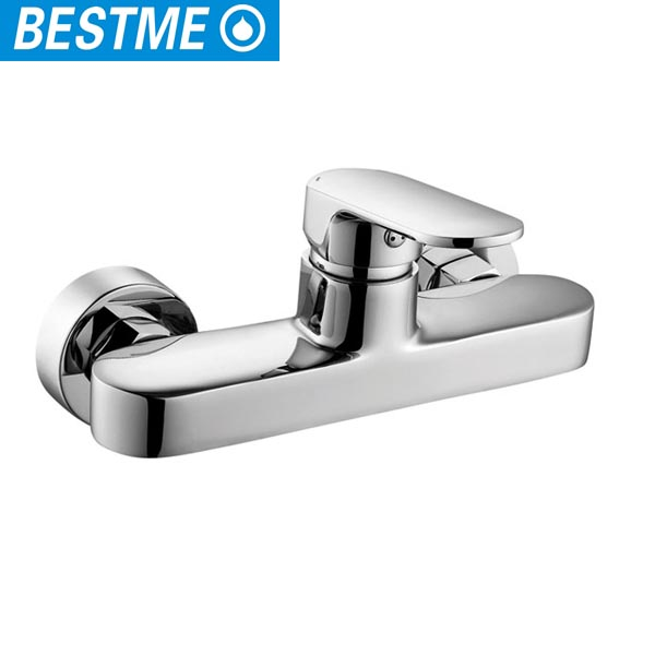 high quolity Chrome finishing hot sale bathroom wall faucet factory