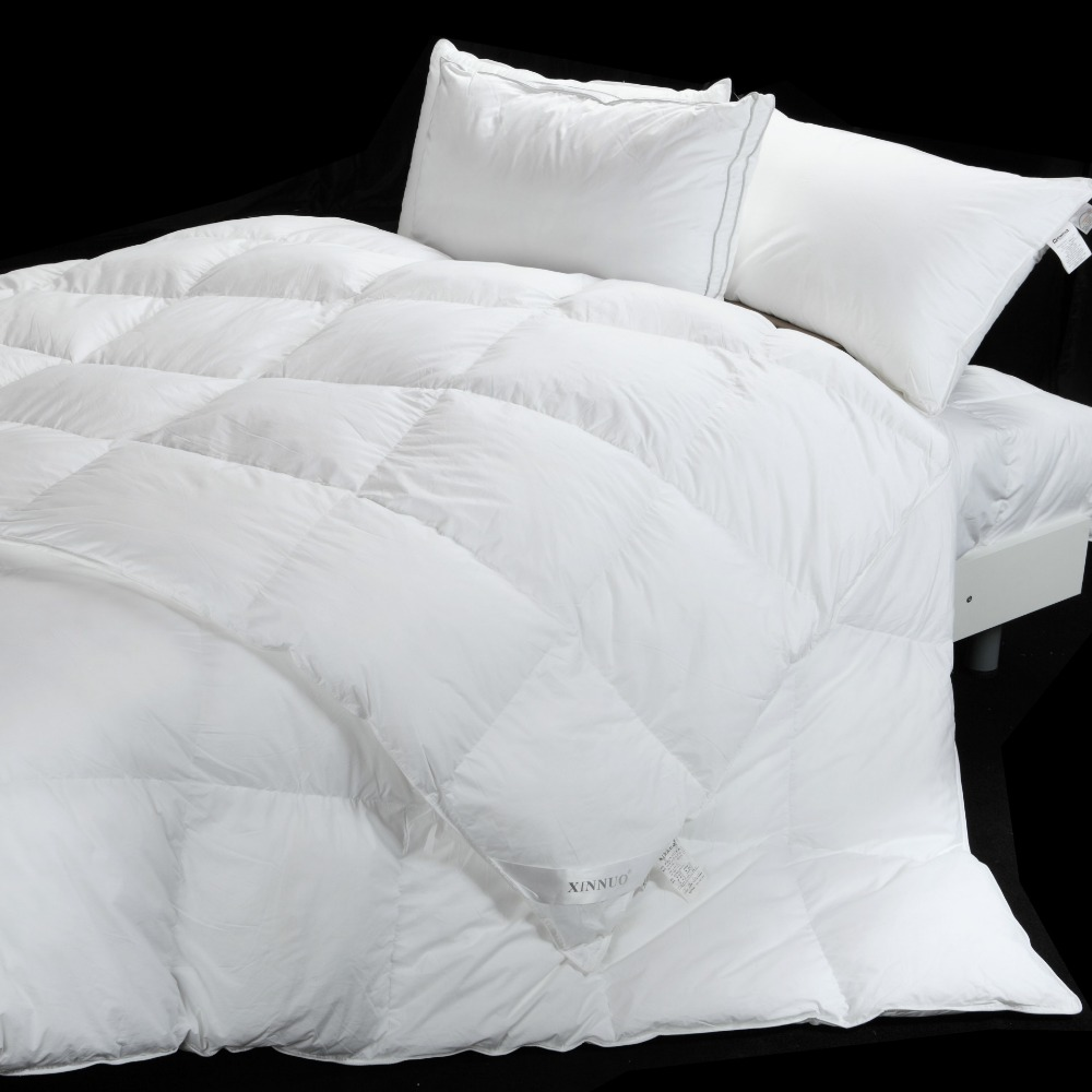 luxury goose down and feather comforters duvets buy wholesale hotel 100 goose down duvet high. Black Bedroom Furniture Sets. Home Design Ideas