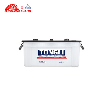 12v Auto Accumulator Dry Cell Truck Using Battery 200Ah long time service top quality N200 car battery