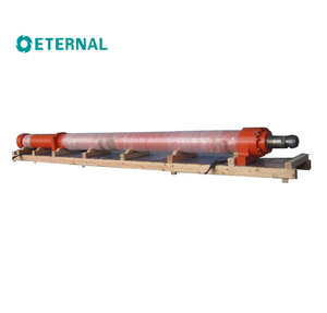 Long stroke hydraulic cylinder for large water project S80