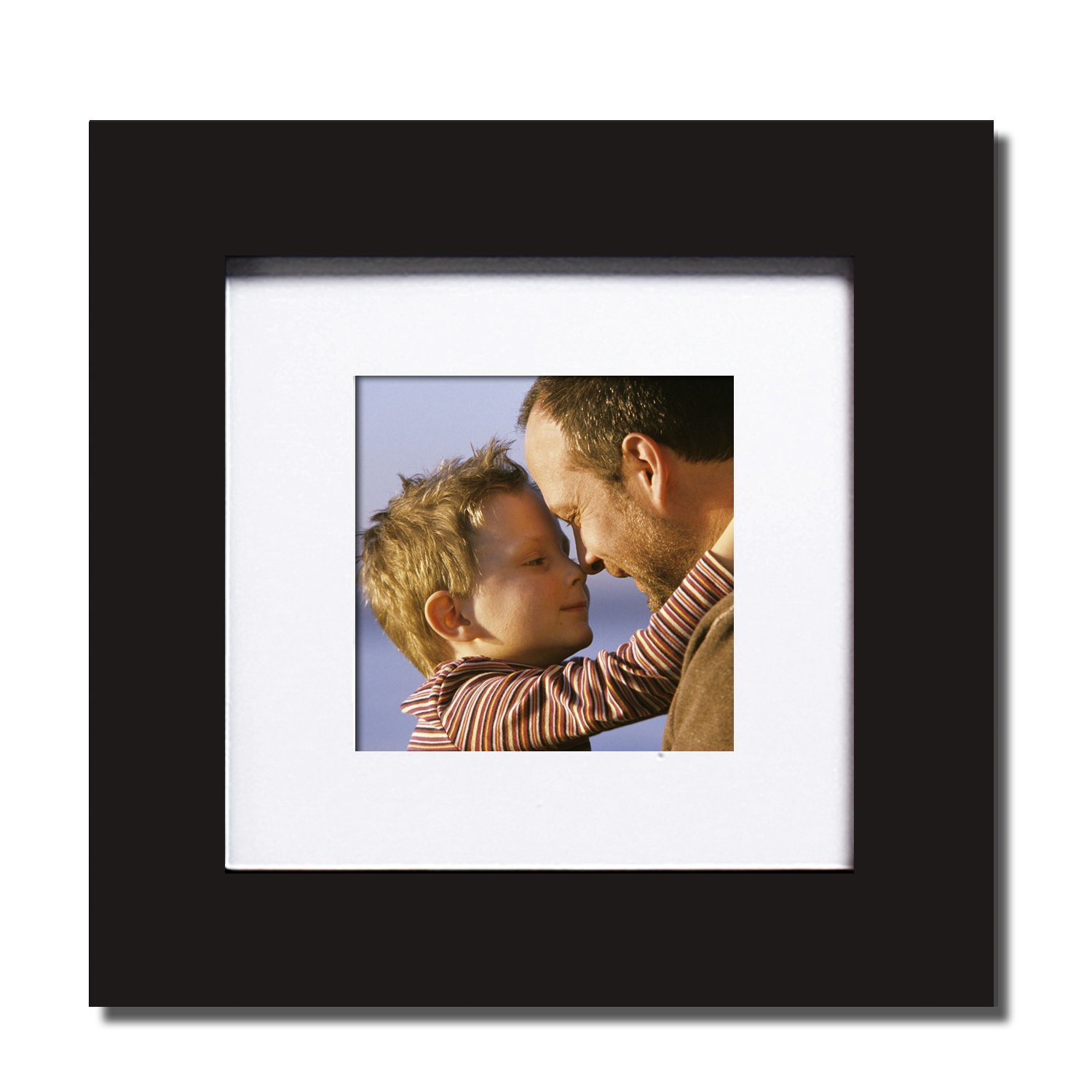 Buy adeco 5 opening black wooden standing photo picture frames adeco pf0037 4 black wood wall hanging picture photo frame with mat jeuxipadfo Images