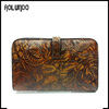 women factory wholesale leather clutch wallet bag for sale