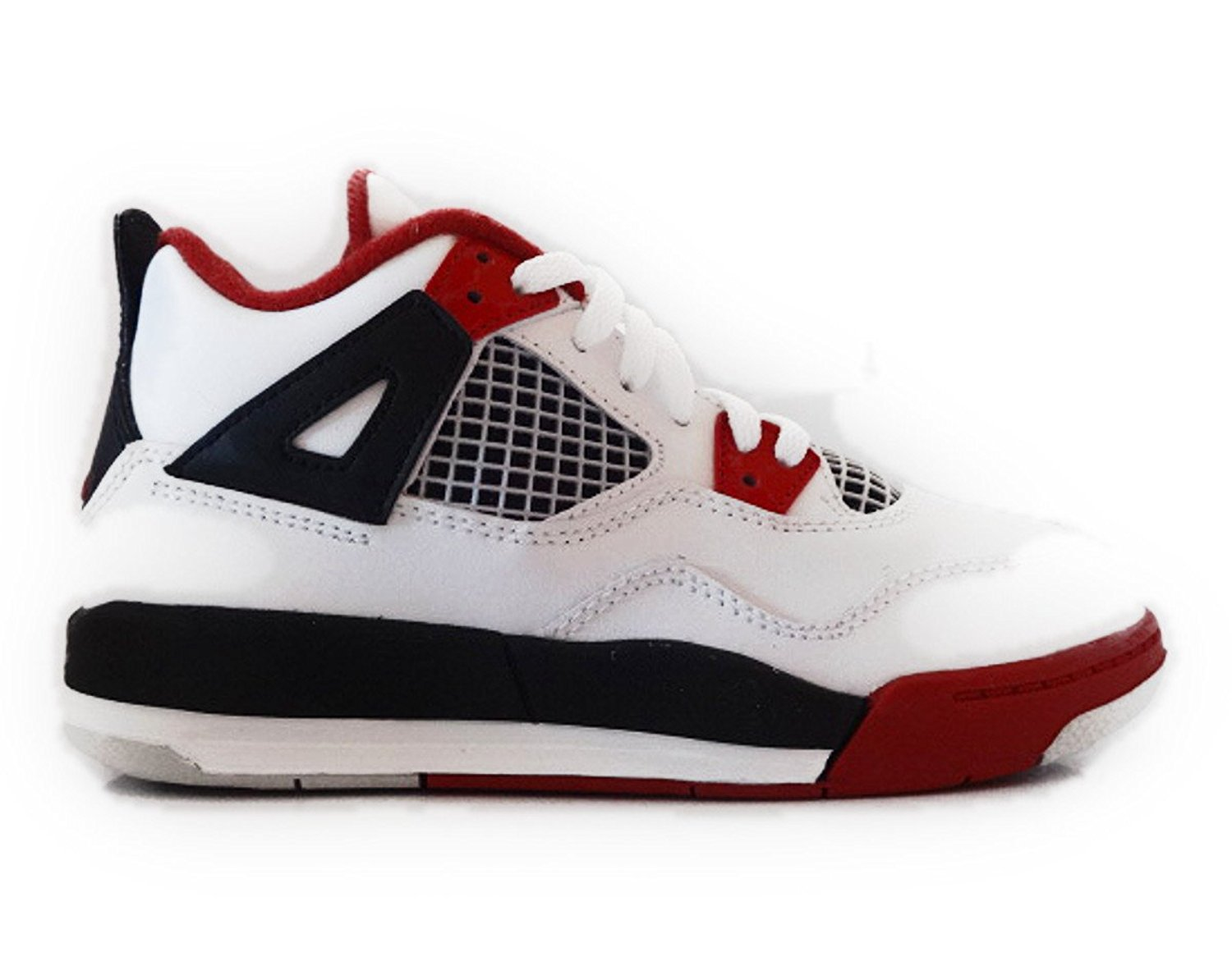 reputable site db131 06830 Get Quotations · Nike Air Jordan 4 Retro Little Kids (PS) Boys Basketball  Shoes 308499-110