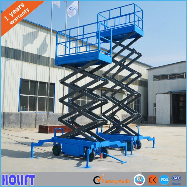 20m air Hydraulic portable mobile mechanical scissor lift