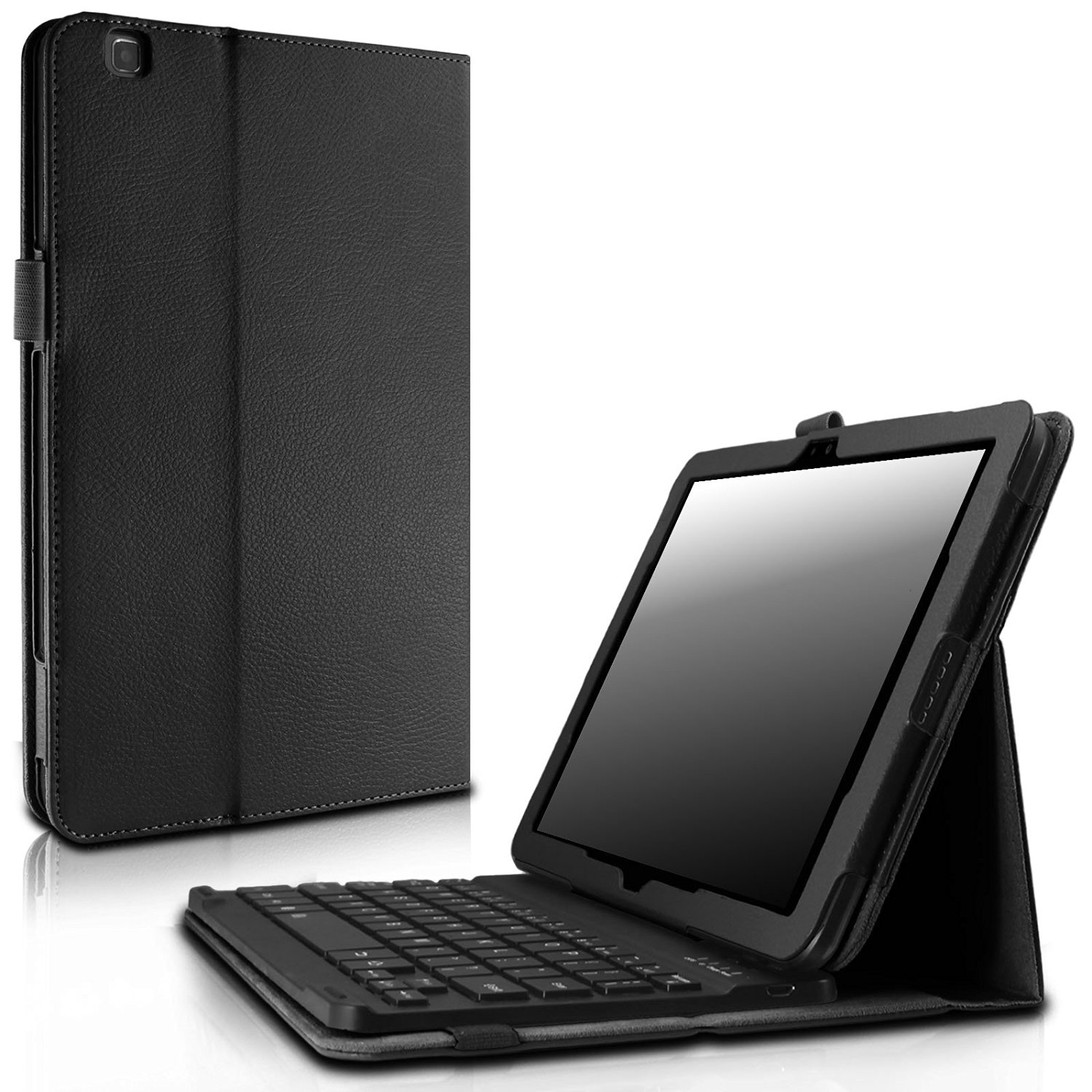 Infiland LG G PAD X 10.1 / G Pad II 10.1 Keyboard Case, Folio Slim Stand Case with Magnetically Wireless Bluetooth Keyboard For LG G PAD X 10.1 (4G LTE AT&T V930) / LG G Pad 2 10.1(V940), Black