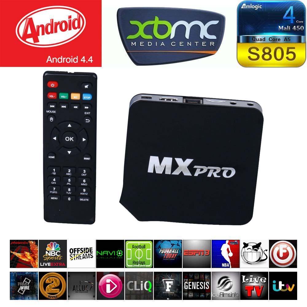 MX Pro Fully Loaded Quad Core Smart Android TV Box Media Player XBMC 1080P