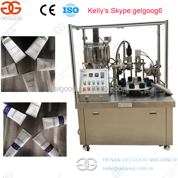 Full Automatic New Disigned Toothpaste Tube Filling Sealing Equipment