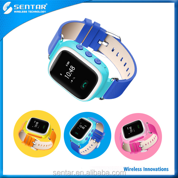 Smart GPS Tracker Kids Wrist GPS Watch with Calling System Watch Anti Lost SOS Call Location Finder Locator Tracker