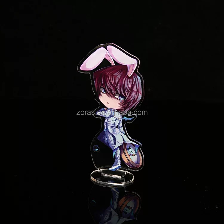 2019 Zoras New Design Acrylic Standee With Anime Figure Character